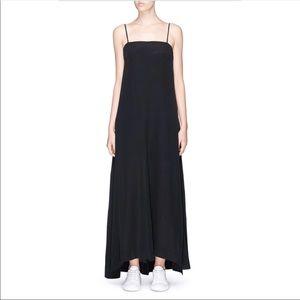 Theory drewie  silk maxi dress